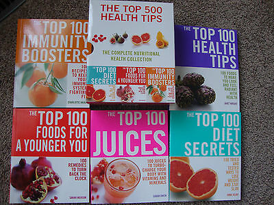The top 500 Health Tips includes 5 books