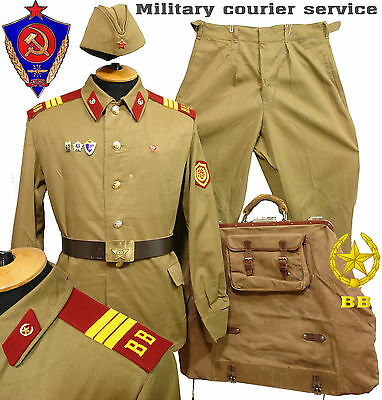 M69 RARE TYPE DAILY soldier uniform Courier Service Red Army