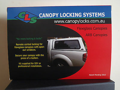 ARB Canopy Central Locking Kit for 3 lift up windows