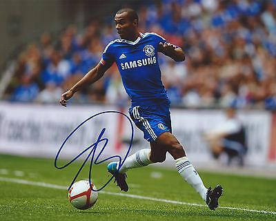 Ashley Cole Signed 8×10 Photo Chelsea FC Autographed COA