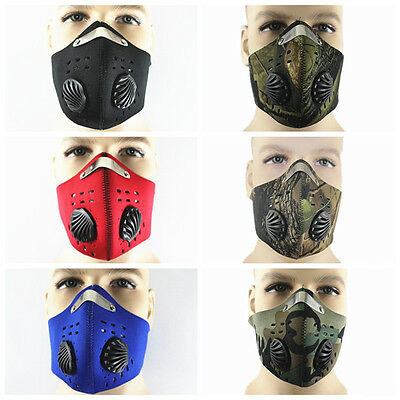 PM 2.5 Gas Protection Dust Mask Filter Respirator Head Protection Head Cycling
