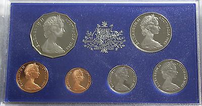 1983 Australian 6 Coin PROOF Set with Certificate & foams - RAM Issue