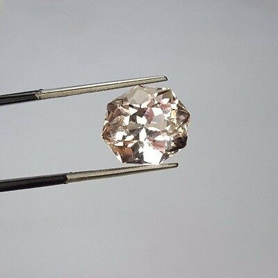 Video!! 8.4 cts  Natural Pink Morganite @ Afghanistan WOW !!!!