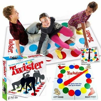 Brand New Classic Funny Family Moves Board Body Twister Game with 2 More Moves