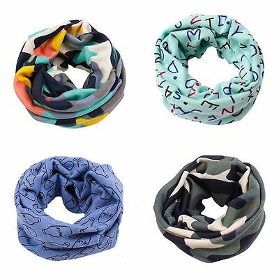 Kids Baby Toddler Soft Cotton Scarves Neck Warp Scarf Warm Shwal Neckerchief