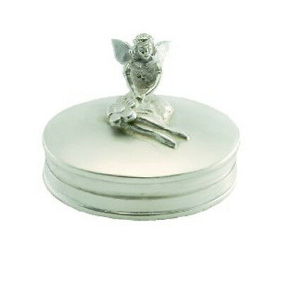 Hallmarked 925 Silver Tooth Fairy Box.  **beautiful Silver Christening Gift**