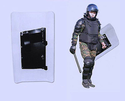 Russian OMON shockproof transparent riot shield
