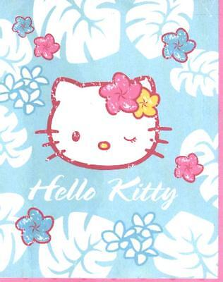 Hello Kitty Fleece-Decke 130/160cm Lizenzware 1B-Ware