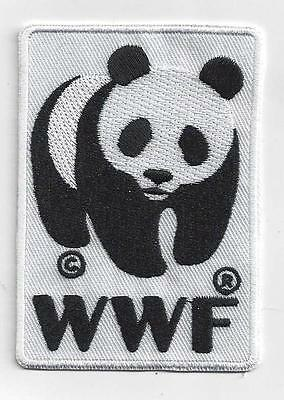WWF PANDA  IRON ON  PATCH BUY 2 GET 1 FREE = 3 of these