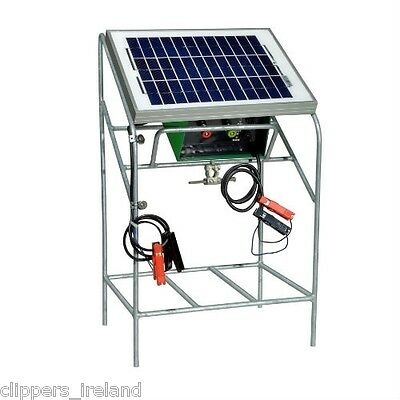 Cheetah 20 Watt Solar Fencer and Stand
