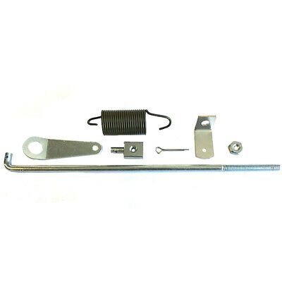 Willys Mb Throttle Link Rod Set Includes Spring And Attachment Plate