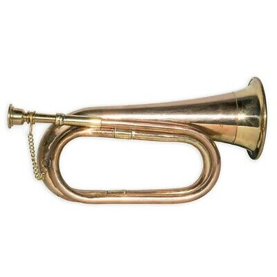 Bugle Brass And Copper Vintage Military Signal Trumpet Bugle Instrument