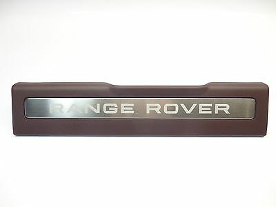 New Range Rover Evoque 5Dr Front Left Non Illuminated Door Sill Trim Dark Cherry