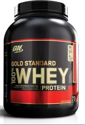 Optimum Nutrition Gold Standard 100% Whey Protein Powder 5LB 2.27KG WPI FREE EXP