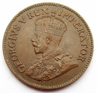 South Africa George V 1931 Farthing 1/4 Farthing