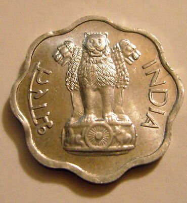 1967 India-Republic 2 Paise Coin Unc