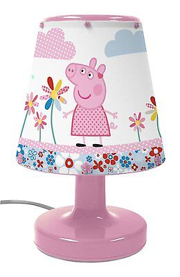 Childrens Peppa Pig Bedside Night Light Desk Lamp