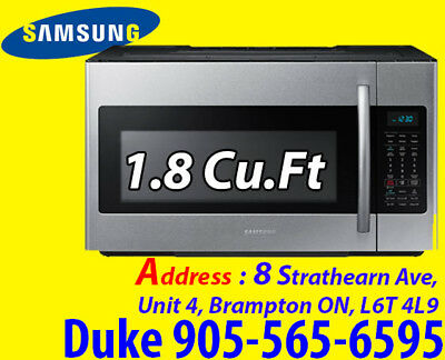 Samsung Over-The-Range Microwave - 1.8 Cu. Ft. - Stainless Steel ME18H704SFS