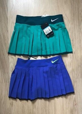 Nike TENNIS SKIRT size M 10-12 yrs & L 12-13 yrs & XL 13-15 yr BNWT Pink & GREEN