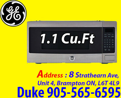 GE Profile 1.1 Cu. Ft. Spacemaker PROFESSIONAL SERIES Microwave Oven PEM11SHC