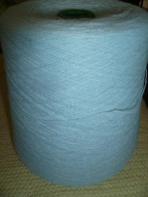 450 Gram Cone Ice Blue Knitting/Crochet 1 Ply Acrylic Yarn