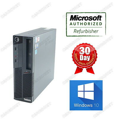 Lenovo Thinkcentre M90P 5864 SFF Desktop i5 3.2Ghz 8G 2TB DVDRW Windows10 Home