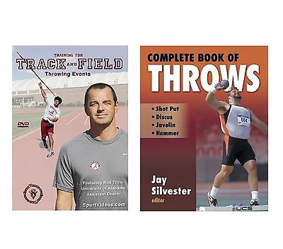 Complete Book of Throws and Throwing Events DVD - Shot Put, Discus, Javelin