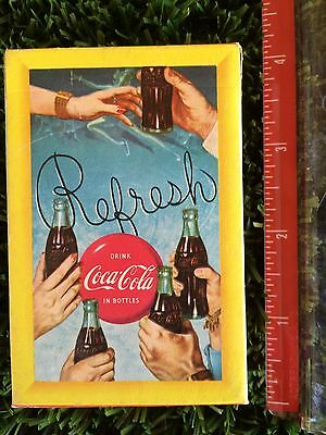 Sealed Vintage Coca Cola Deck of Playing Cards, 1958