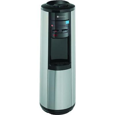 Stainless Steel Heated Chilled Water Dispenser 3 or 5 Gallon Hot/Cold LED Safety
