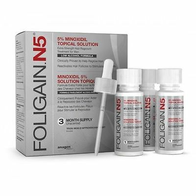 FOLIGAIN.N5® 5% PUREST MINOXIDIL (Low Alcohol Formula)​​​ - 3 Months