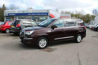 2015 SsangYong Turismo 2.0 ES 5DR  FULL SERVICE HISTORY  LEATHER TRIM 5 door ...