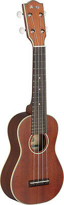 STAGG US80-S Ukulele soprano traditionnel avec table en acajou-A massif
