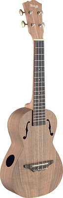 STAGG UCX-ACA-S Ukulele concert traditionnel avec table en acacia massif