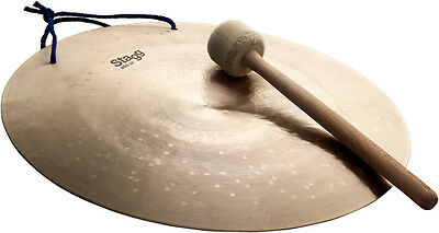 """STAGG WDG-24 Wind Gong 24"""" avec mailloche"""