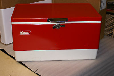 1978 Coleman Cooler Snow Lite With Insert Tray Camp Tailgate w Water Cooler Jug