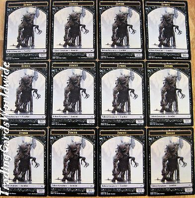 Zombie Token Set // 12x Oath of the Gatewatch // NM // engl.