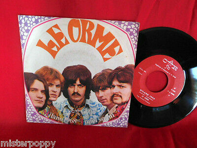 LE ORME Milano 1968 I miei sogni 45rpm 7' + PS 1968 ITALY BEAT Psych Prog