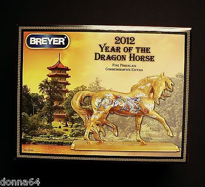 Breyer Horse Model Porcelain Commemorative Edition 2012 Year of the Dragon NIB