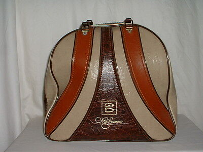 Vintage Brunswick Wind Jammer Single Ball Carrying Bag Wire Rack