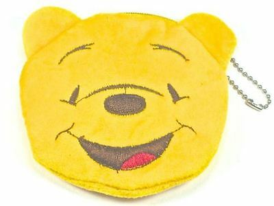 Yellow Winnie The Pooh Style Face Purse Zip And Keyring Party Bag Fillers …