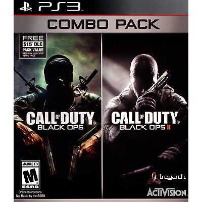 Call of Duty: Black Ops 1 & 2 Combo Pack PS3 [Brand New]