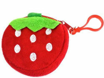Strawberry  Fun Character Purse Keyring Gift Party Bags