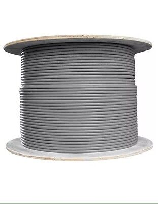 6491X 1.5mm Grey Single Cable - 100m on drum.