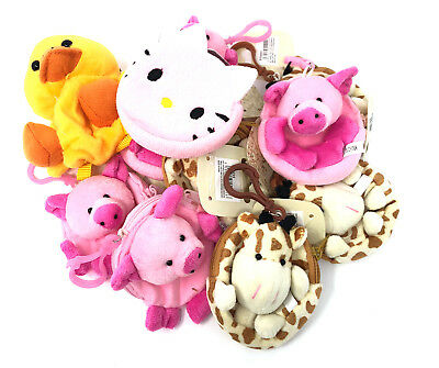 Giraffe Keyring Purse Novelty Party Bag Fillers