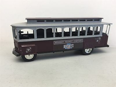 ERTL Die-Cast 1/43 Scale HERSHEY'S Trolley Car Coin Bank...100th Anniversary.