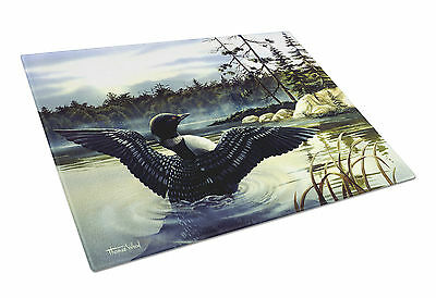 Carolines Treasures  PTW2059LCB Loon Country Glass Cutting Board Large