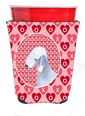 Carolines Treasures  SS4483RSC Bedlington Terrier  Red Solo Cup Beverage Insulat
