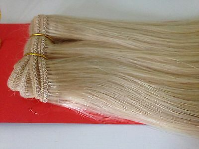 """100% Remy Human Hair Weft/Weave Extensions 20"""", 110g Full head Buy 2 for £75"""