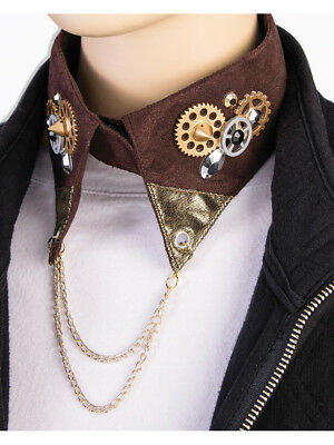 Adult's Steampunk Industrial Age Robot Cowboy Collar Costume Accessory