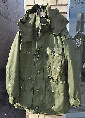 Canadian Army Extreme Cold Parka 2 Piece Set Arctic Parka Small Long 7336